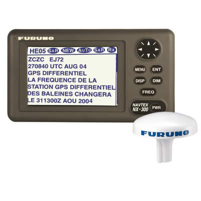 A NAVTEX receiver (Furuno)