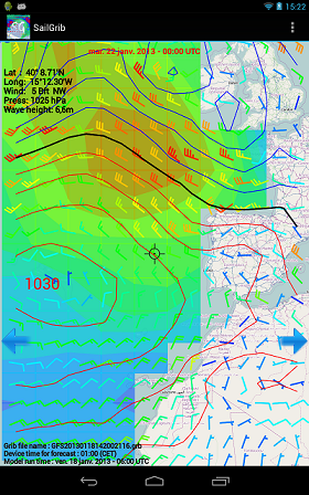 A Winds & isobars