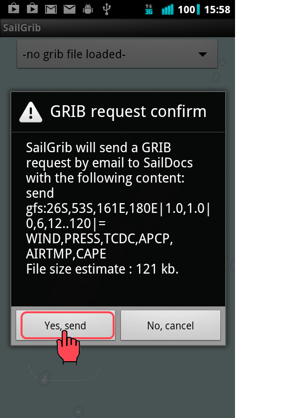 GRIB Files on a Tablet - Franks-Weather - The Weather Window